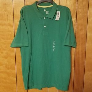 GAP Mens Polo Shirt XL short sleeve Green